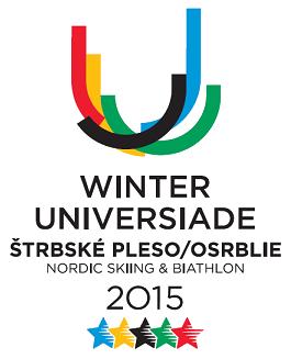 Winter Universiade 2015 Štrbské Pleso Osrblie logo