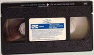 CIC-Taft Video VHS top label (83-85)