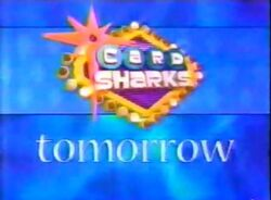Card sharks '01 tomorrow