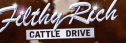 Filthy Rich Cattle Drive logo