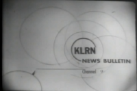 KLRN news bulletin slide
