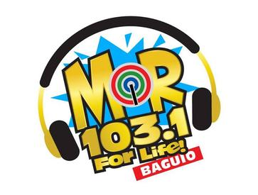 MOR 103.1 Baguio new logo