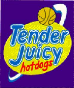 Purefoods TJ Hotdogs logo 1996 1998-2000