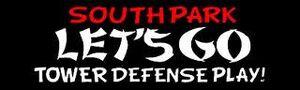 South park lets go toer defence play logo