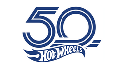 Hot wheels 50th logo