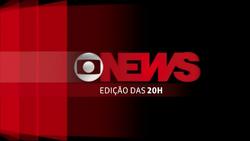 Jornal GloboNews - Edição das 20h vinheta 2013