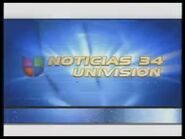 Kmex noticias 34 univision bump-in package 2003