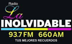 Logo La Inolvidable 2007 - Actualidad
