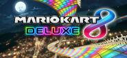 MK8 Deluxe - Logo Background