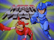 Mega Man cartoon logo