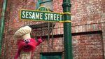 Sesame Street logo with Gonger