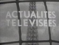 Actualités télévisées 1963