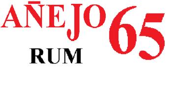 Anejo Rum 65ers logo 1988 1990