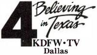 KDFW 1988 logo