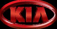 Kia logo badge red