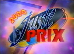 Le Juste Prix 2000