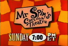 Mr. Spim's Cartoon Theatre Logo