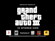 Rockstar Studios Limited logo on GTA 3 trailer PC
