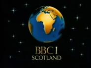 BBC One Scotland Christmas 1986 ident