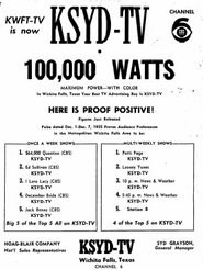 KSYD-TV 1956