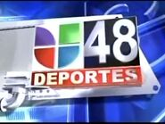 Knvo univision 48 deportes package mid 2000s