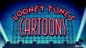 Looney Tunes Cartoons title card