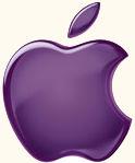 Apple 1998 purple