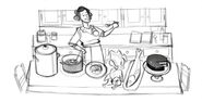 Google Julia Child's 100th Birthday (Storyboard 2)