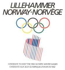 Lillehammer 1992 bid logo