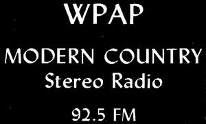 WPAP - 1970s -April 9, 1972-
