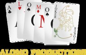 Alomo Productions 1989 logo
