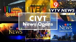 CIVT-DT news opens