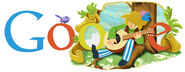 Google Miroslav Krleza's 118th Birthday