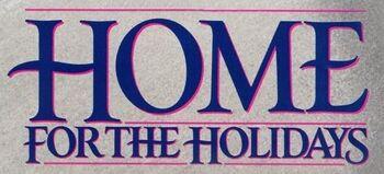 Home for the Holidays movie logo