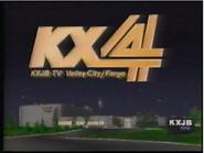 KXJB-TV Studio 1990