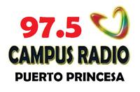Campus Radio 97.5 Puerto Princesa Logo 2002