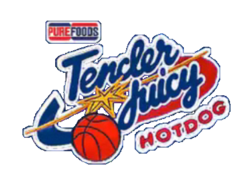 Purefoods TJ Hotdogs logo 1994 1995