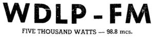 WDLP-FM - 1950 -November 12, 1950-
