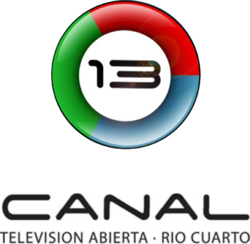Canal 13 Río Cuarto (Logo Vertical - 2010)