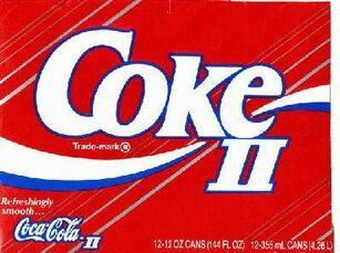 Coke II logo