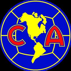 Escudo Club América 1991-1994 Azul
