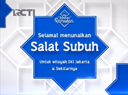 Happy performing subuh prayer on RCTI