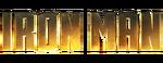 Iron Man logo variant no spacing