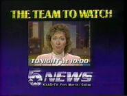 KXAS 5 News 10PM ID 1985