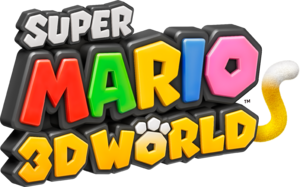 Logo EN - Super Mario 3D World