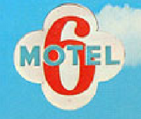 Original motel 6 logo