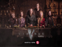 TV5 Vikings Season 4 Test Card January 2018