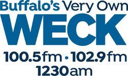 WECK 100.5 102.9 FM 1230 AM