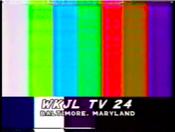 WKJL 1985 Testcard