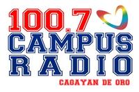 Campus Radio 100.7 Cagayan de Oro Logo 2005